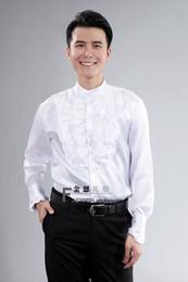 Nuevos hombres de estilo Boda / Baile de graduación / Cena Novio Camisas Usar novio Hombre Camisa desde fabricantes