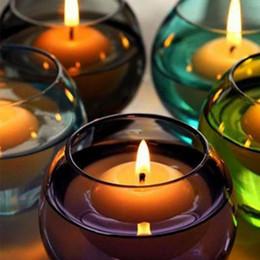2019 bougies de noël vacances 10pcs / lot bougies flottantes pour l'événement de soirée de mariage Décoration intérieure Bougies Décoration de Noël de vacances de soirée de mariage de la mode bougies de noël vacances pas cher