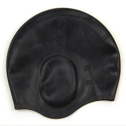 Roupa de banho esportiva on-line-SZ-LGFM-elegante desportivo silicone natação touca de banho touca de banho Swimwear Novo