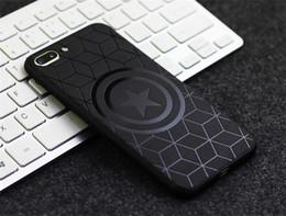 teléfonos baratos Rebajas Nuevo estuche para teléfono móvil de TPU, adecuado para modelos de iphone, estuche protector con relieve negro para hombres. Para 6/7/8 / X / XR / XSMAX