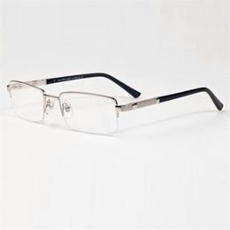 32054618dcf608 designer halb randlose brillen Rabatt Vazrobe Brillengestell Männer Semi Randlose  Brillen Mann Brillen Brillen Marke Designer