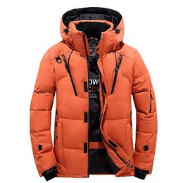 parkas for winter Promo Codes - 2019 Fashion Winter New Jacket Men Warm Coat Fashion Casual Parka Thickening Coat Men For Winter