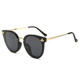 2019 neue frauen sonnenbrille luxus honeybee designer cat eye mode brille hohe qualität uv-schutz marke beliebte charming sonnenbrille von Fabrikanten