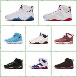 Großhandel Großhandelsmänner 7 VII Basketball Schuh Preiswerte Gute Qualitätsmänner 7S Für Verkauf Preiswerte Sportschuh Lederne Mens Neue Basketball