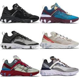 562c21912d64 UNDERCOVER X Upcoming React Element 87 Parra Brand Men Women Trainer Men  Women Casual Jogging Designer Running Shoes Sneakers