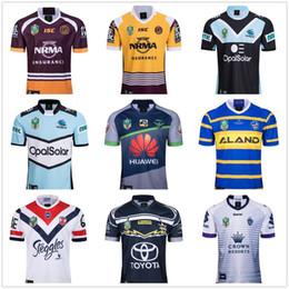 2019 caballeros azules 2018 camisetas nrl liga de rugby Storm BRONCOS Cowboys Eels Roosters camisetas de rugby Nueva Gales del Sur Blues State Melbourne camisetas S-3XL rebajas caballeros azules