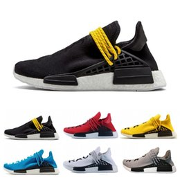 free x art Promo Codes - 2019 Cheap Wholesale HUMAN RACE Pharrell Williams x 2018 Men Women Sport Discount Cheap Fashion Casual Shoes Free Ship size 36-47