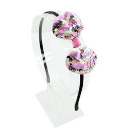 Headband arc populaire paillette pour enfants avec boucle de tête mignonne princesse 5-7 ans V049 ? partir de fabricateur