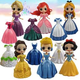 China kinderspielzeug online-11 CM Puppen mit flasche Amerikanischen PVC Kawaii Kinder Spielzeug Anime Action-figuren Realistische Reborn Puppen für kinder spielzeug mädchen