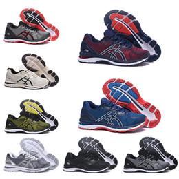2019 Новое поступление Гель-Нимб 20 Спортивные кроссовки высшего качества Черный Серый Белый для мужчин Спортивные кроссовки со скидкой 40.5-45 cheap quality discount athletic shoes от Поставщики высококачественная спортивная обувь
