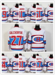 8d28f47bc  76 PK Subban White Jersey 2016 Hockey Montreal Canadiens Winter Classic  Jerseys  79 Andrei Markov  11 Brendan Gallagher Jersey