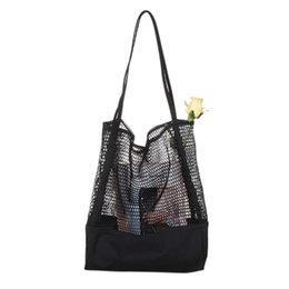 Модные продуктовые сумки онлайн-Fashion-Fruit Shopping Bag Storage Ultra Reusable Grocery Bags Tote Canvas Net Fabric Bag