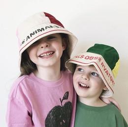5853e9f25e8 2019 Summer Autumn TAO Children Sun Hat Girls Bucket Hat Cute Letters  Cartoon Baby Caps Bobo Choses Boys Cap Gorros Infantiles