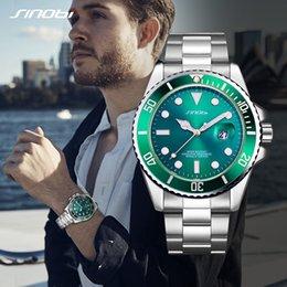 сталь синови Скидка SINOBI Classic Business Golden Men Watches 2019  Stainless Steel Band Casual Waterproof Quartz Wristwatch Reloj Hombre Hot