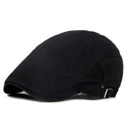 Berretti Beret regolabili per ma berretto piatto a spina di pesce mentre berretti di cotone berretti da berretto rosso maglia fornitori