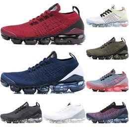 arancione basso top kd Sconti Cushion 2018 Nike Air Vapormax Flyknit 3.0 Scarpe da corsa Uomo Donna Classic Triple Nero Bianco Scarpe da ginnastica Sport Running 3 Designer Walking Shoes 36-45