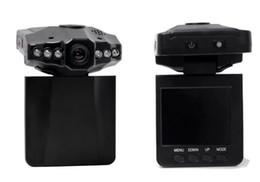 2019 luz de cabeça de vídeo China Fábrica 2.5 polegadas TFT HD gravador de condução 6 luzes da cabeça do carro visão noturna infravermelha Carro DVR mini car loop de vídeo comentários câmera desconto luz de cabeça de vídeo