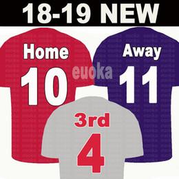 quality design 1b3be d59d2 2019 11 M.SALAH Limited Edition soccer Jersey Black EA Sports Jerseys 18 19   9 FIRMINO  10 MANE home red football uniform away soccer shirt günstig ...