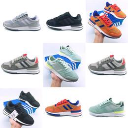 separation shoes 48873 ced01 adidas yeezy ZX500 Laufen Freizeitschuhe RM Goku Männer 500 Sneakers ZX500  OG Der Dragon Ball Grau Jogging Schuhe Trainer Frauen Großhandel günstig rm  mode