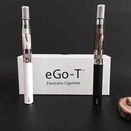 Vaporizador mod bateria dupla on-line-Ego-t bateria dupla vape starter kit cigarro e cigarro CE4 atomizador 650 mah 900 mah bateria 1100 mah ego t ce4 mod caixa e líquido vaporizador