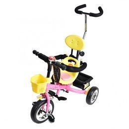 Double Fold Baby Trike Rear Wheel Foot Brake Children Tricycle Riding Car Trolley solid wheel portable baby ride car cheap tricycle wheels от Поставщики трехколесные колеса