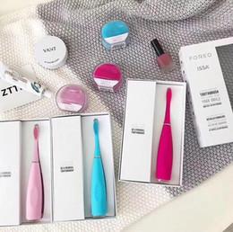 Elektrische batterien online-Silikon Elektrische Zahnbürste Mundhygiene mit USB Elektromassagegerät Zahnbürste Erwachsene Massagegerät Zahnbürsten Batterie Zahnbürste