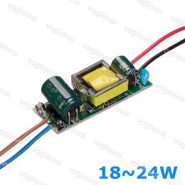 2019 downlight 21w Geführter Transformator 300MA AC110 AC220V AC240V IP20 18W 19W 20W 21W 22W 23W 24W für Downlight-Birnen-Scheinwerfer eingebaut im Treiber PCB EPACKET rabatt downlight 21w