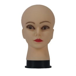 Parrucca bambola modello di testa piccole calve modello femminile a testa occhiali parrucca strumento generale da