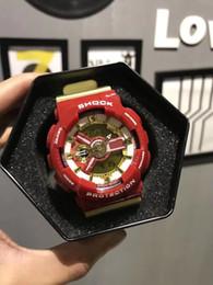 Relojes deportivos de gama alta digital online-2019 nuevos relojes de lujo G reloj led multifunción luminosa electrónica reloj deportivo reloj de gama alta relojes digitales Relojes