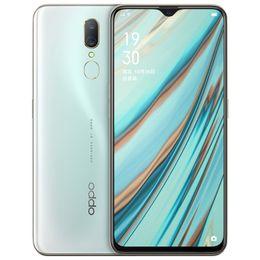 2019 k1 téléphones cellulaires Cellule d'origine Oppo A9X 4G LTE Téléphone 6Go RAM 128Go ROM Helio P70 Octa de base 6,53 pouces Plein écran 48MP empreintes digitales ID OTG Smart Mobile Phone