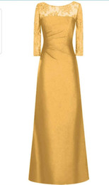 2019 vestidos de primavera para convidados tafetá de 2020 em torno do pescoço e vestido de dama de honra meia manga