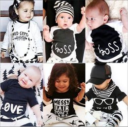 2019 camisetas de algodón para niñas Ropa para niños Niños Camisetas de verano Camisetas de manga corta para niños pequeños Camisetas de algodón para bebés Camisa de moda animal Camiseta para niñas B5081 camisetas de algodón para niñas baratos