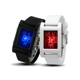 2019 reloj de pulsera corea Smart2019 Muñeca Noctilucente Color del caramelo Superficie de gelatina Corea Tendencia Chica masculina Más Función Movimiento Reloj resistente al agua rebajas reloj de pulsera corea