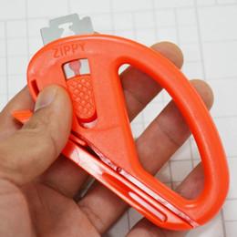 Riciclare gli adesivi online-20pcs in fibra di carbonio taglierina del vinile di sicurezza pellicola autoadesivo lama di taglio con lama di riciclaggio strumenti di avvolgimento auto