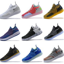 24d80804c24d 2019 New Kevin Durant 11 Basketball Shoes Men KD 11 Gold Championship MVP  Finals Sports Shoes training Sneakers Outdoor Run Shoes Size 7-12