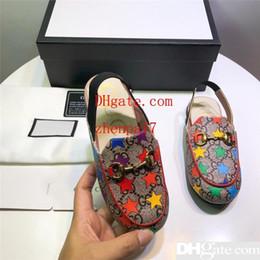 Дизайнерская Детская Обувь Роскошные Детские Сандалии Красочные Звездные Сандалии Мода Повседневная Детская Летняя Обувь с Коробкой Обувь Высокого Качества от
