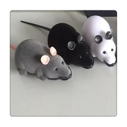 cane controllato a distanza Sconti Telecomando Mouse Pet Toys Wireless Per Cat Dog Toys Novità regalo Divertente Telecomando Pet Toys RC Rat Regali