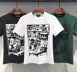 2019 bem-vindo curto 2019 nova moda de alta qualidade de algodão em torno do pescoço de manga curta T-shirt impresso tamanho do crânio m-xxxl livre de frete bem-vindo a buy-6 bem-vindo curto barato