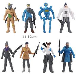 Armar armas online-8 unids / set juego Apex Legends Figuras de Acción juguetes 2019 Nuevas armas APEX batalla real modelo de muñeca de juguete modelo para niños B