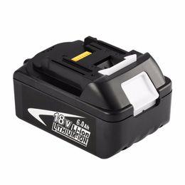 Novo portátil substituição 18V bateria recarregável 6AH 6000mAh Li-Ion Battery Power Battery Tool for BL1860 de Fornecedores de levou 24v impermeável