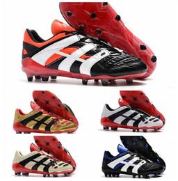 NIKE Predator Accelerator Elettricità FG David Beckham diventa scarpe da calcio Scarpe da calcio da uomo Tacchetti da calcio