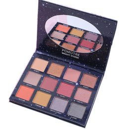 POMUTRE Bright Starr Eyeshadow Palette  Maquiagem Profissional 12 Color Eye Shadow Natural Red Pink Matte Shimmer Eye от