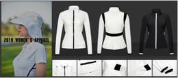 2019 OEM Ti гольф тонкая анти-UVA одежда для женщин Весна / Лето в сухом виде защита от солнца ужин тонкий гольф пальто 2 цвета от