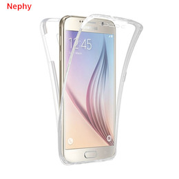 Samsung galaxy prime core silicone en Ligne-Coque pour Samsung Galaxy S3 Duos S4 S5 S6 Neo S6 Bord S8 Plus Note 3 4 5 8 9 Core Grand Prime 360 Pleine Transparent CoverPackage mail
