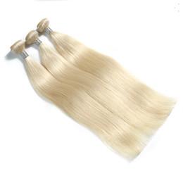 6a cheveux vierges non transformés recto peru en Ligne-Bundles de cheveux raides péruviens de couleur platine de haute qualité 100% de trame de cheveux humains Extensions 6a non transformés de cheveux vierges