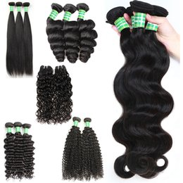Canada Brésilienne Péruvienne Vierge Cheveux Indiens 8-28 pouces Droit Droit Vague Corps Tisse Kinky Bouclés Pas Cher Remy Humain Cheveux Extensions 3 Bundles supplier indian remy curly hair extensions Offre
