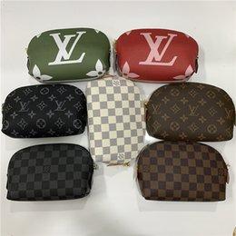 Bolsas de viaje verdes online-Zippy bolsas de maquillaje bolsa de cosméticos bolsa de maquillaje las mujeres bolso de la bolsa de aseo mujer bolsas bolsas de viaje de lujo bolsos monederos Rojo Verde 12 365 478