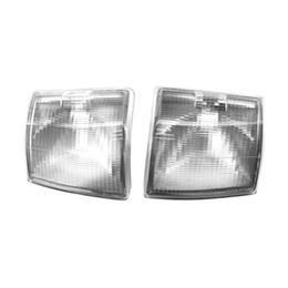 Luzes de canto dianteiro Limpar Lens Turn Signal Indicator Lâmpadas sem Lâmpadas para VW Transporter T4 BJ 1995-2003 supplier indicator lens de Fornecedores de lente indicadora