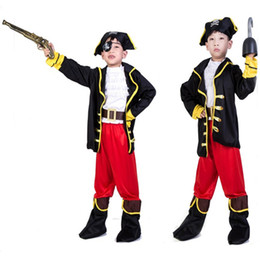52b4f27c710ae Fête d Halloween Fournitures Pirate Capain Jack Cosplay Vêtements Boy  Costume D halloween pour Enfants Garçons Enfants Costumes De Noël promotion  costumes ...