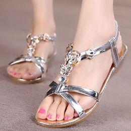 fdde0dafaad904 UxradG New Womens Sandal Thong Flip Flops Shoe Summer Owl Beaded Sandal  Comfortable Non-Slip Flat Shoes (13